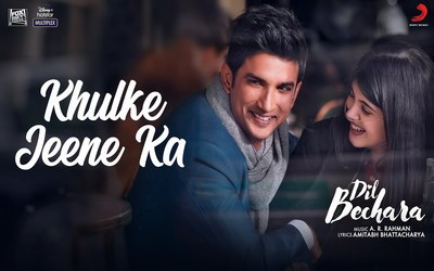 Khulke Jeene Ka Lyrics Translation In English Dil Bechara