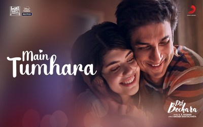 Main tumhara lyrics Dil Bechara Meaning in English