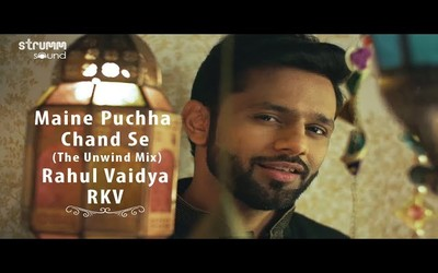 Maine Pucha chand se lyrics in Hindi Rahul Vaidya