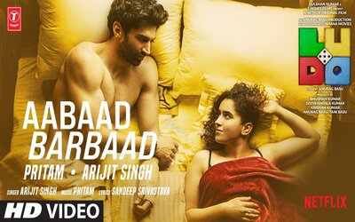Aabaad Barbaad lyrics English Meaning Ludo Arijit Singh